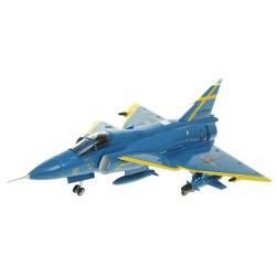 AV7242003 - 1/72 SAAB VIGGEN F16-32 JA37D BLUE PETER UPPSALA