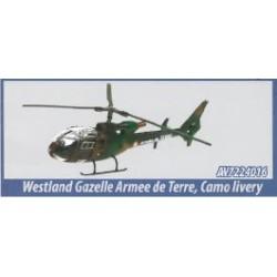 1/72 WESTLAND GAZELLE ARMEE DE TERRE CAMO
