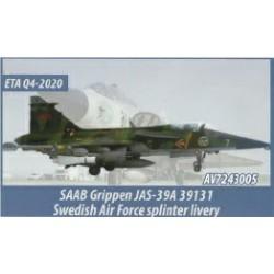 AV7243005 - 1/72 SAAB GRIPEN JAS-39A 39131 SWEDISH AIR FORCE SPLINTER